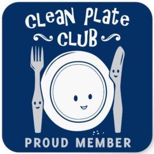 clean plate