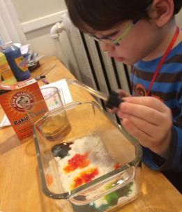 food color mixing