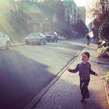 Sunshine running