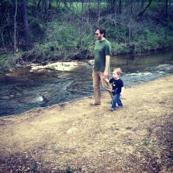 A walk by the creek