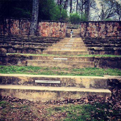 Nature's stairmaster