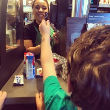 Paying cashier