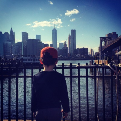 NYC, brooklyn bridge, ferry