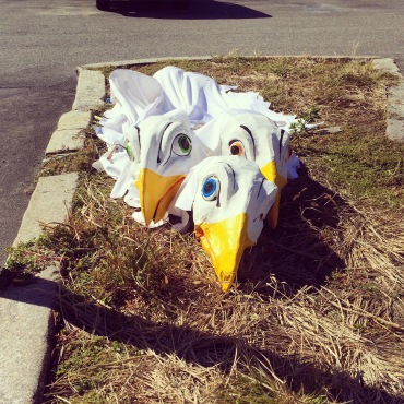abandoned parade costume