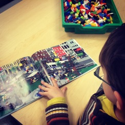 Taking in inspiration from Lego books