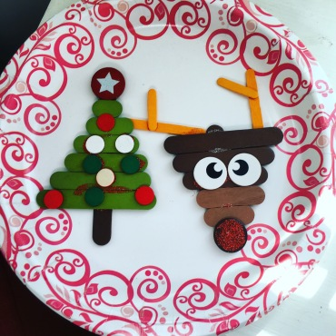 A simple Christmas craft
