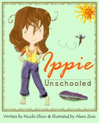 ippie-unschooled-nicole-olson-paperback-cover-art