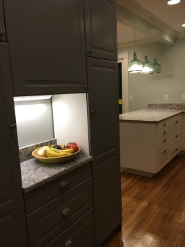 New pantry space