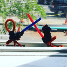 Star Wars pipecleaners