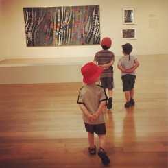 Taking in some art