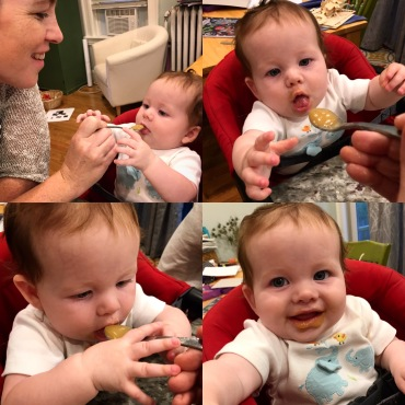 First foods!