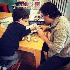 robot building, robots, building robots