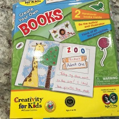 Hardcover book making kit