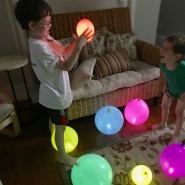 Light up balloons!