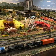 Model train museum