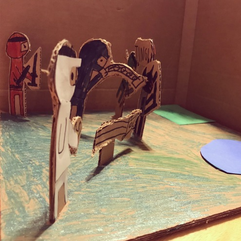 3D Ninja scene